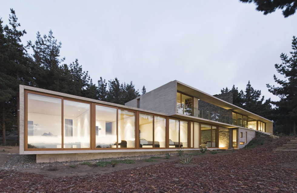 Aguas Claras House In Chile From Ramon Coz + Benjamin Ortiz Studio 1
