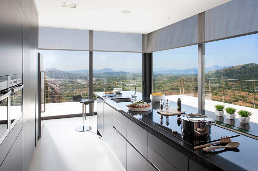 Casa 115 From Miquel Angel Lacomba Architect Studio The House In Spain, Overlooking The Picturesque Valley 7