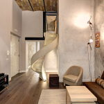 Duplex Apartment In Rome From MOB Architects