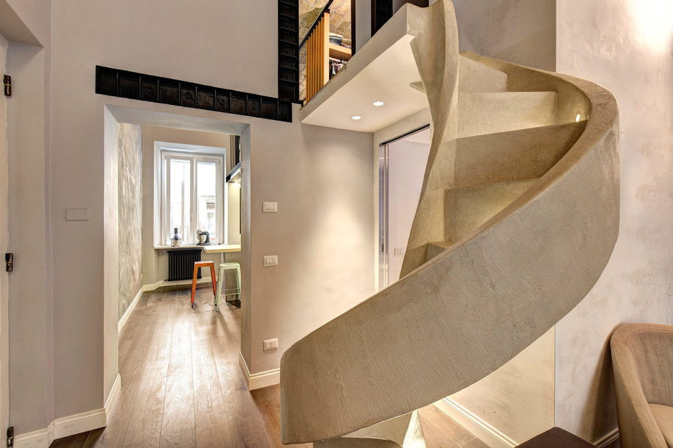 Duplex Apartment In Rome From MOB Architects 10