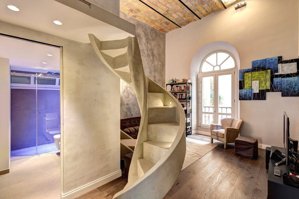 Duplex Apartment In Rome From MOB Architects 6