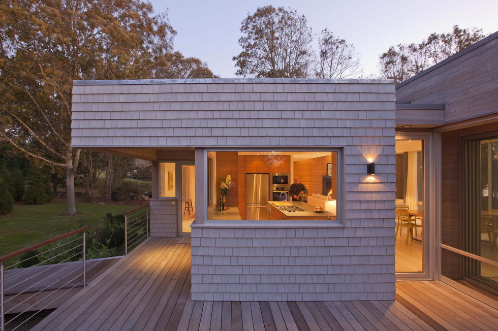 Glass House On The Riverside From RUHL WALKER Architects 11