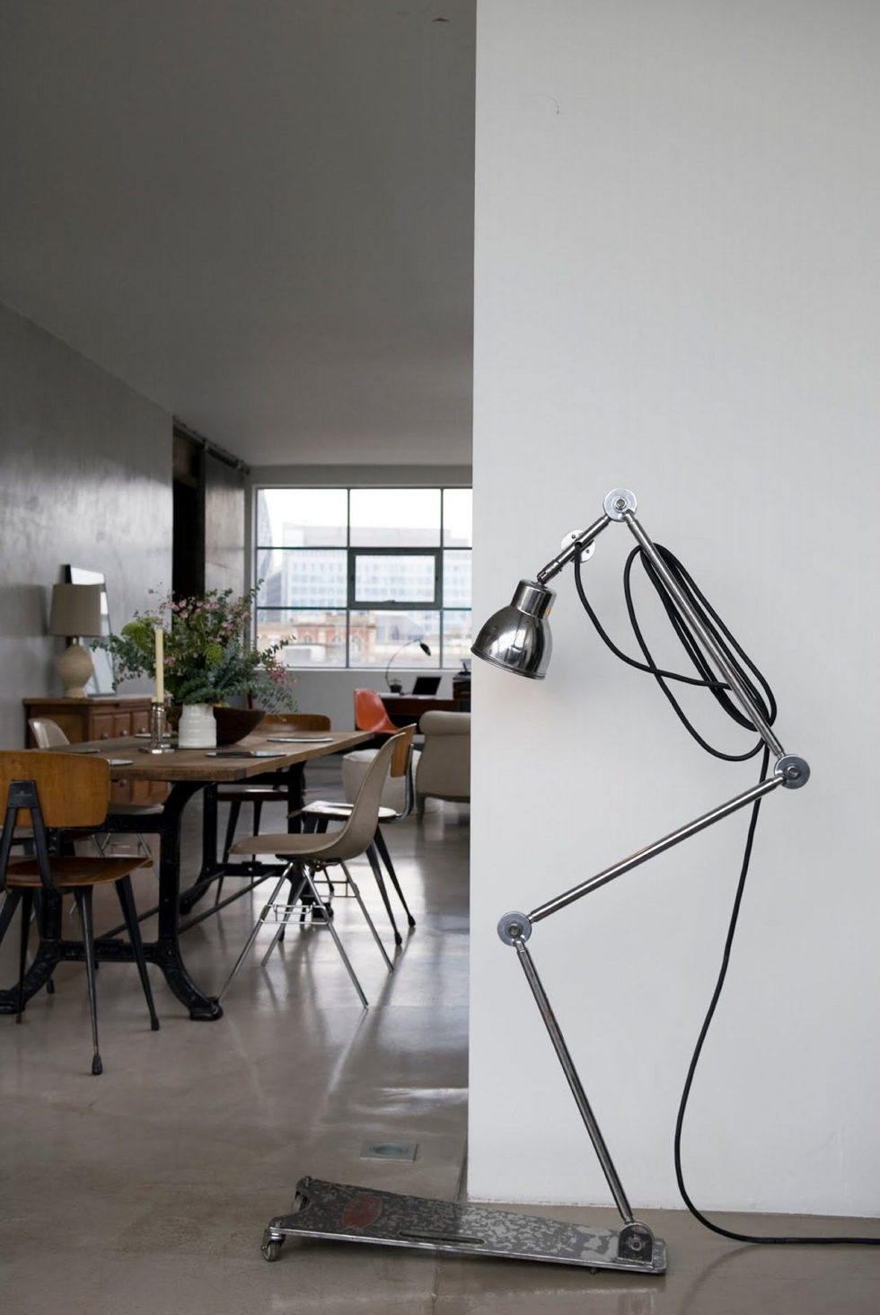Loft in the clothing factory in London - Design ideas