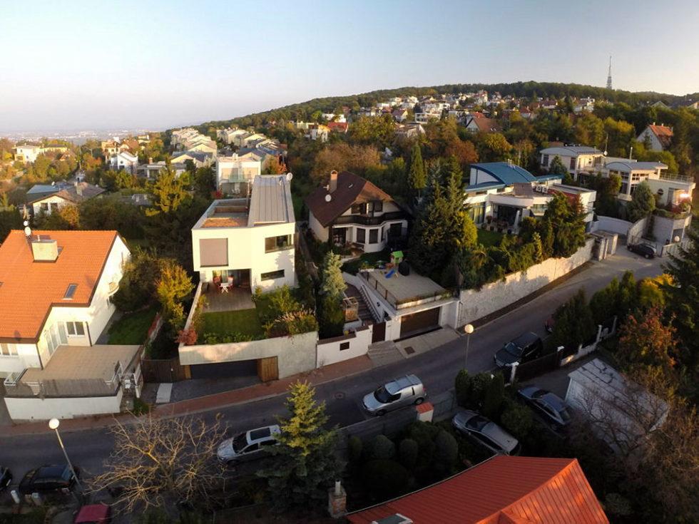 Modern Design Of Double View House in Bratislava, Slovakia 1