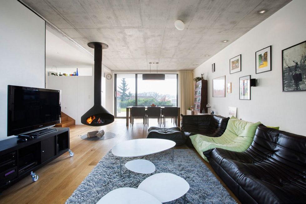 Modern Design Of Double View House in Bratislava, Slovakia 10