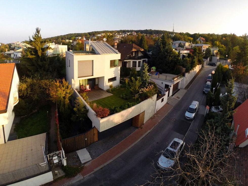 Modern Design Of Double View House in Bratislava, Slovakia 2