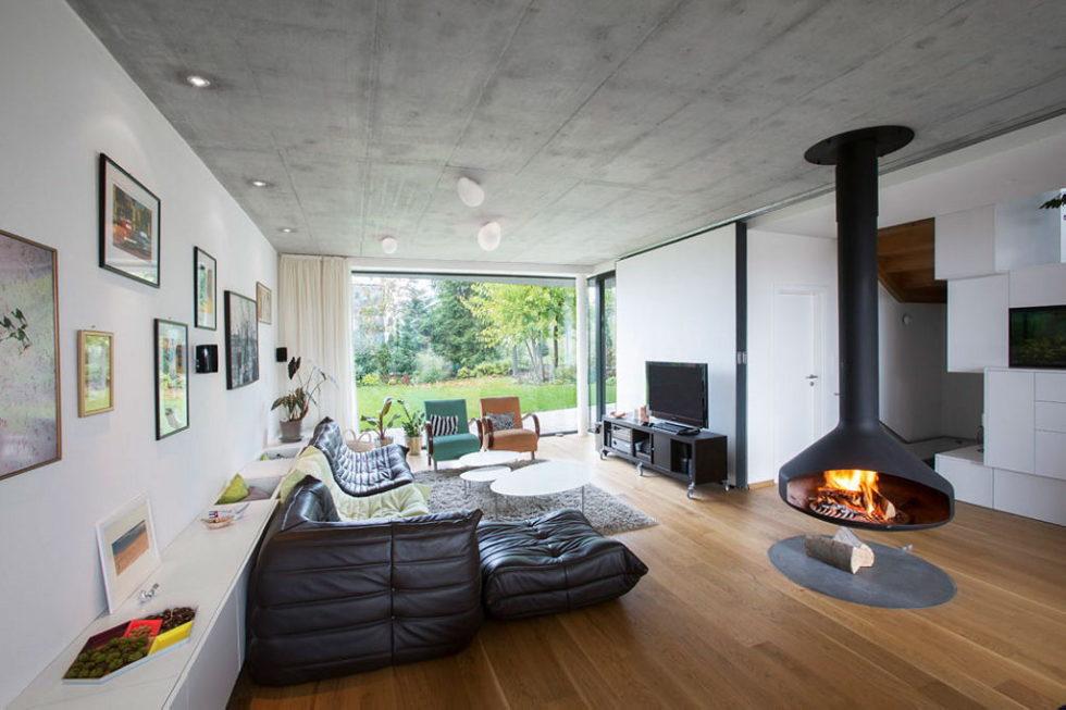 Modern Design Of Double View House in Bratislava, Slovakia 6