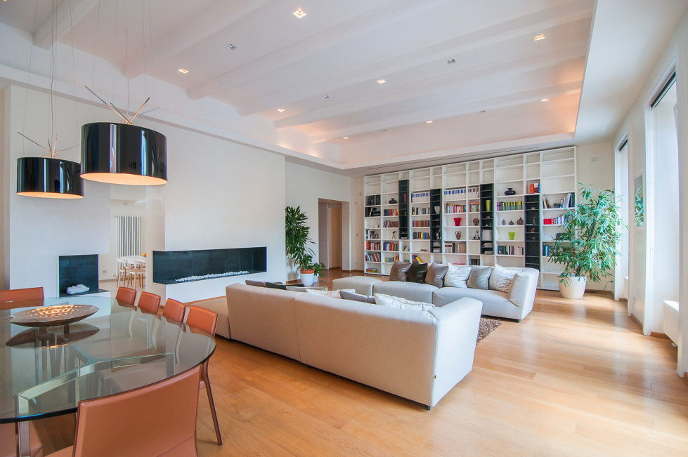 Modern-Styled Apartment in Rome, Italy 3