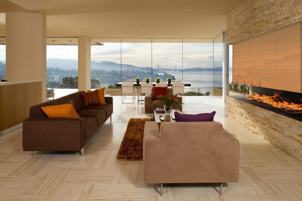 The Garay Residence on the shores of San Francisco Bay from Swatt Miers Architects 15