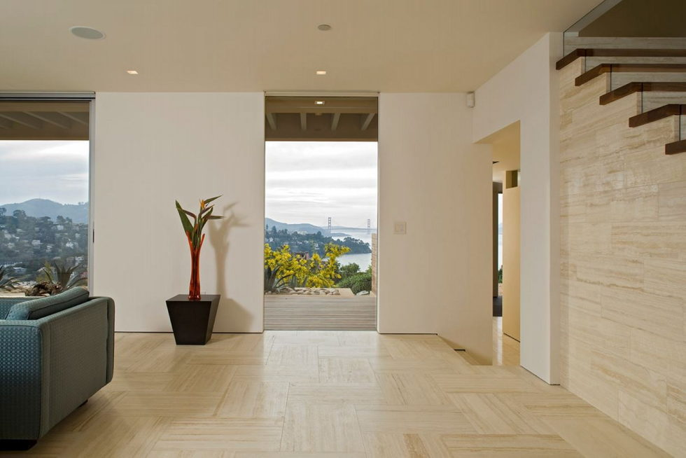 The Garay Residence on the shores of San Francisco Bay from Swatt Miers Architects 16