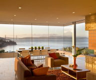 The Garay Residence on the shores of San Francisco Bay from Swatt Miers Architects