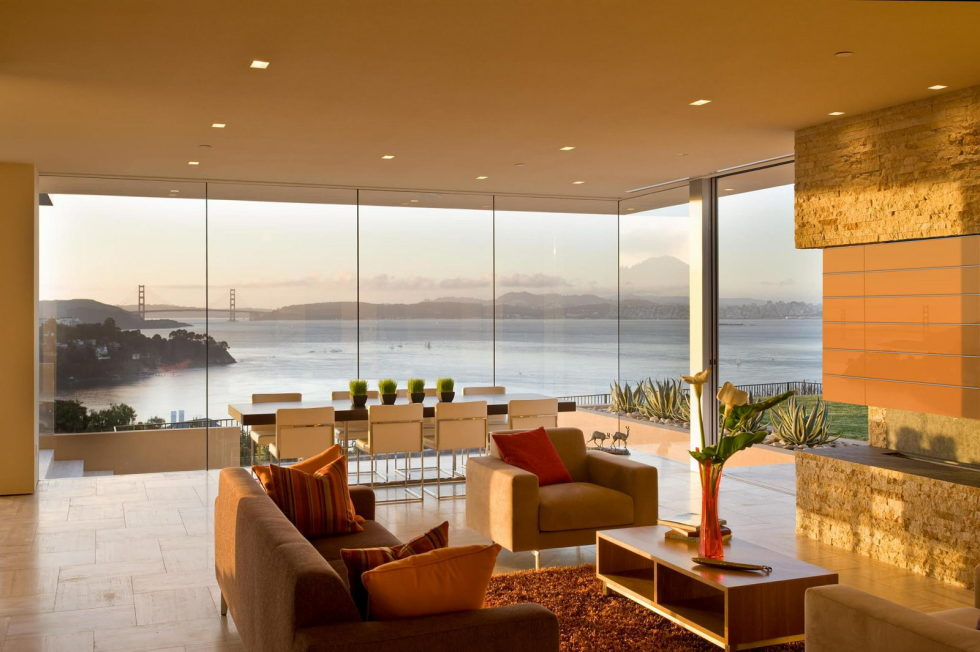 The Garay Residence on the shores of San Francisco Bay from Swatt Miers Architects 7