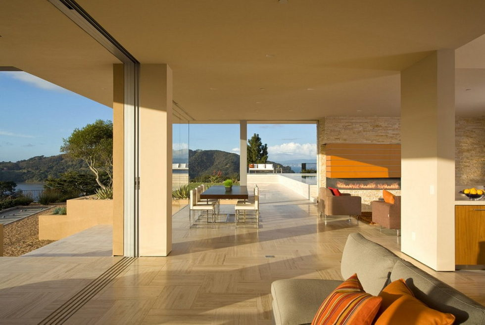 The Garay Residence on the shores of San Francisco Bay from Swatt Miers Architects 8