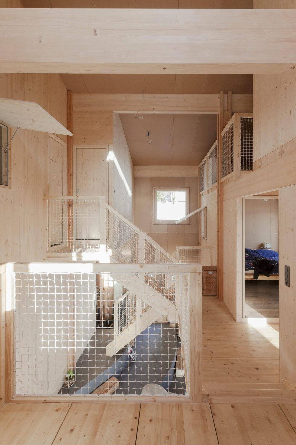 The House For A Family With Children at Switzerland Mountains From Kunik de Morsier architects 10