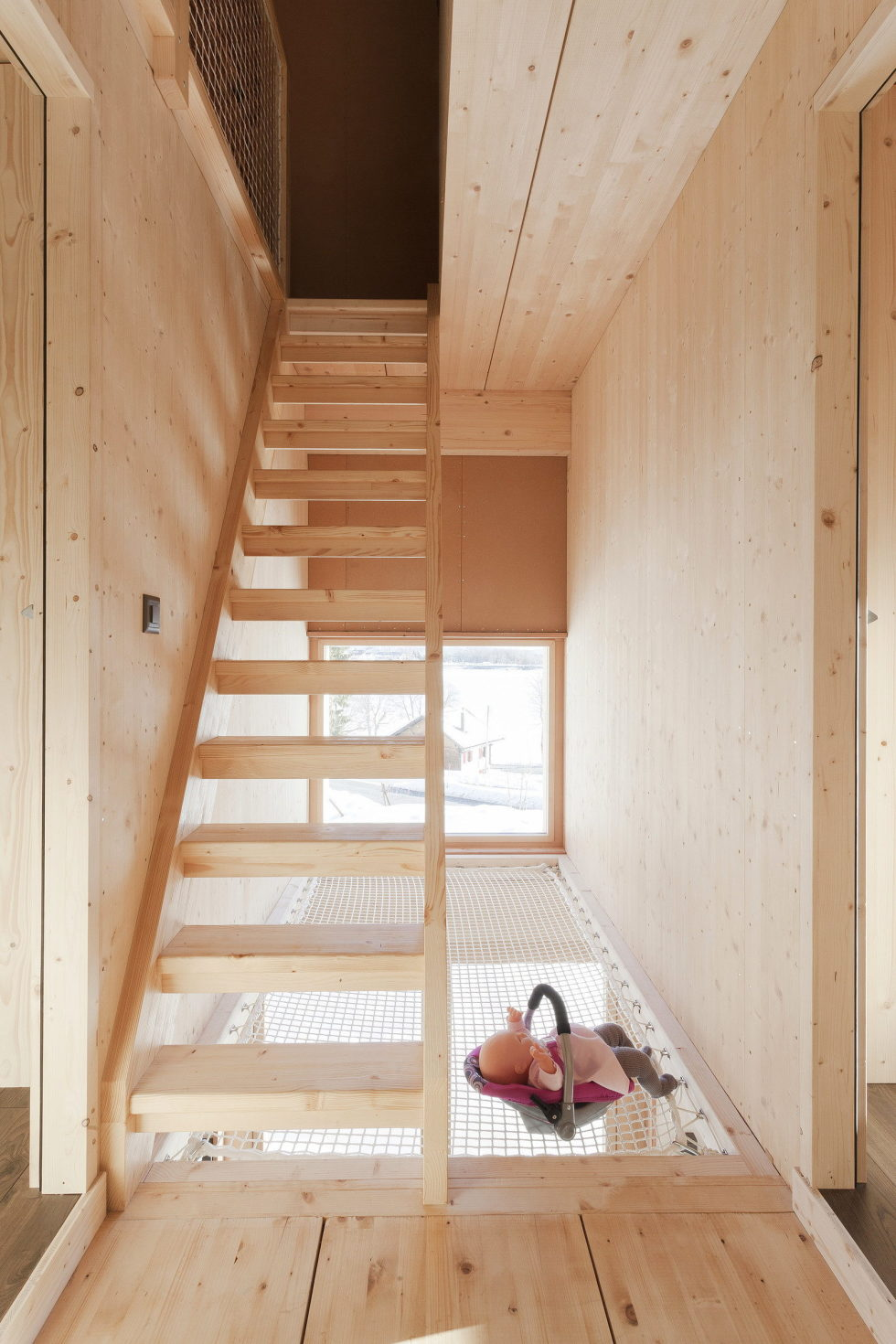 The House For A Family With Children at Switzerland Mountains From Kunik de Morsier architects 12