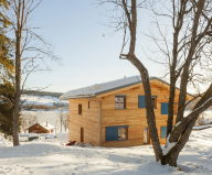 The House For A Family With Children at Switzerland Mountains From Kunik de Morsier architectes