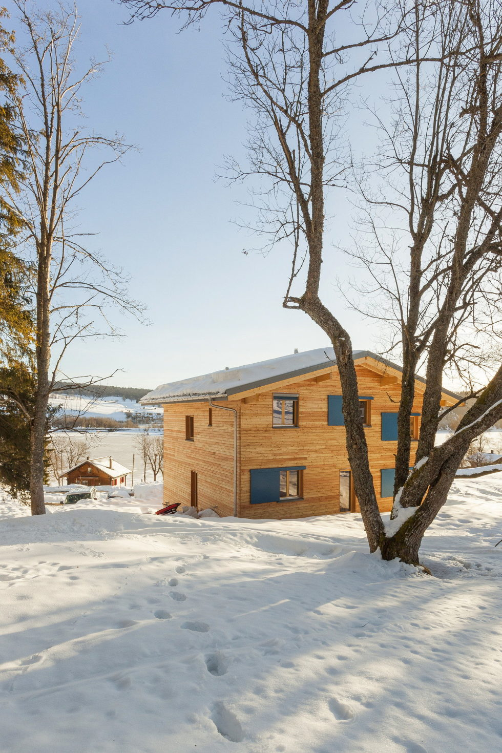 The House For A Family With Children at Switzerland Mountains From Kunik de Morsier architects 15