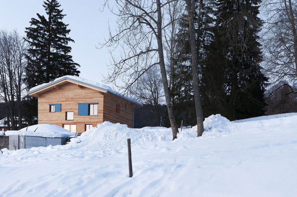 The House For A Family With Children at Switzerland Mountains From Kunik de Morsier architects 4