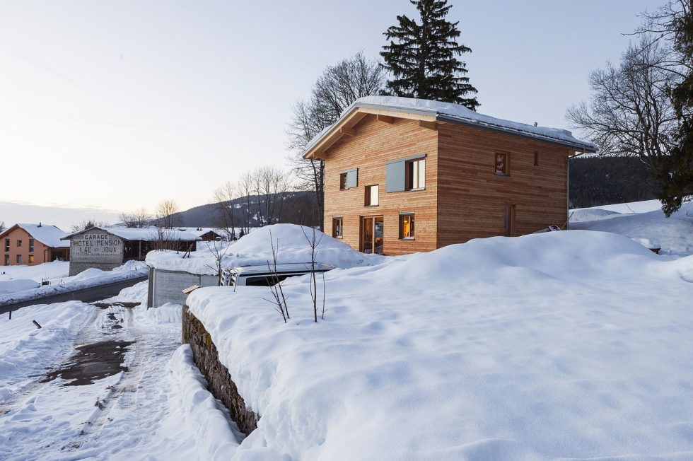 The House For A Family With Children at Switzerland Mountains From Kunik de Morsier architects 5