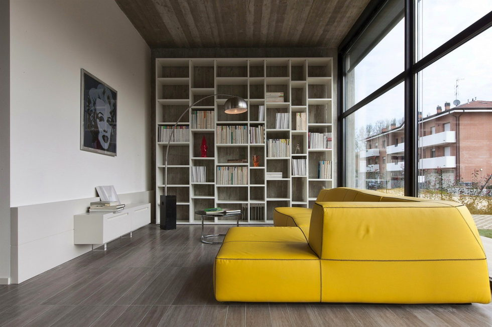 The House For Writer In Bologna From Giraldi Associati Architetti 14