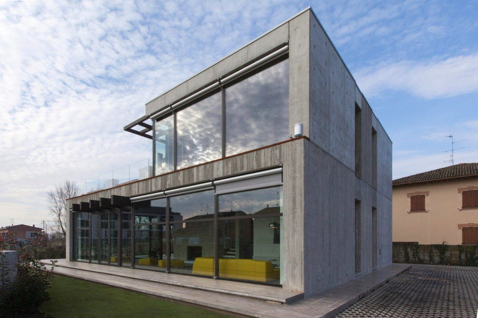 The House For Writer In Bologna From Giraldi Associati Architetti 2