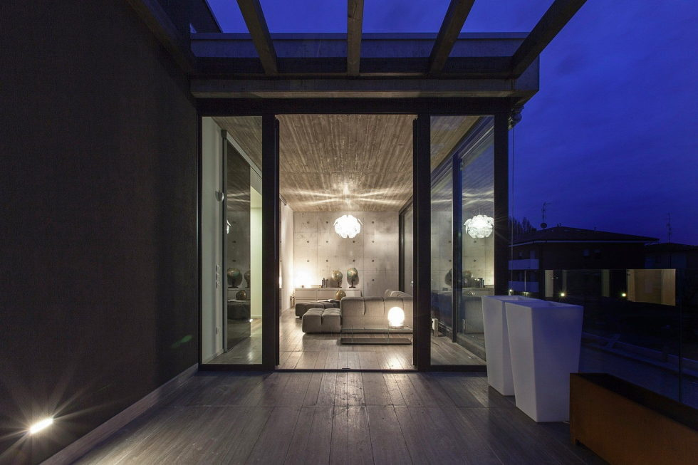 The House For Writer In Bologna From Giraldi Associati Architetti 23