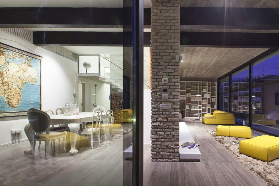 The House For Writer In Bologna From Giraldi Associati Architetti 27