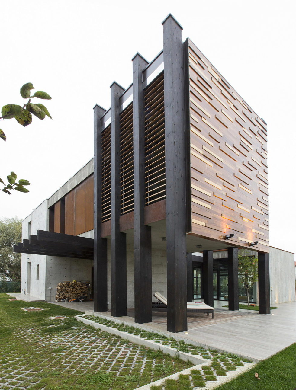 The House For Writer In Bologna From Giraldi Associati Architetti 5