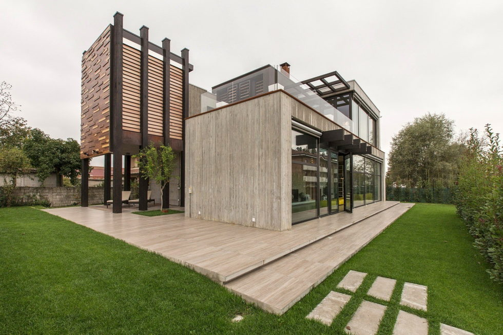The House For Writer In Bologna From Giraldi Associati Architetti 7