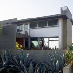 The Leonard residence in the Hollywood Hills