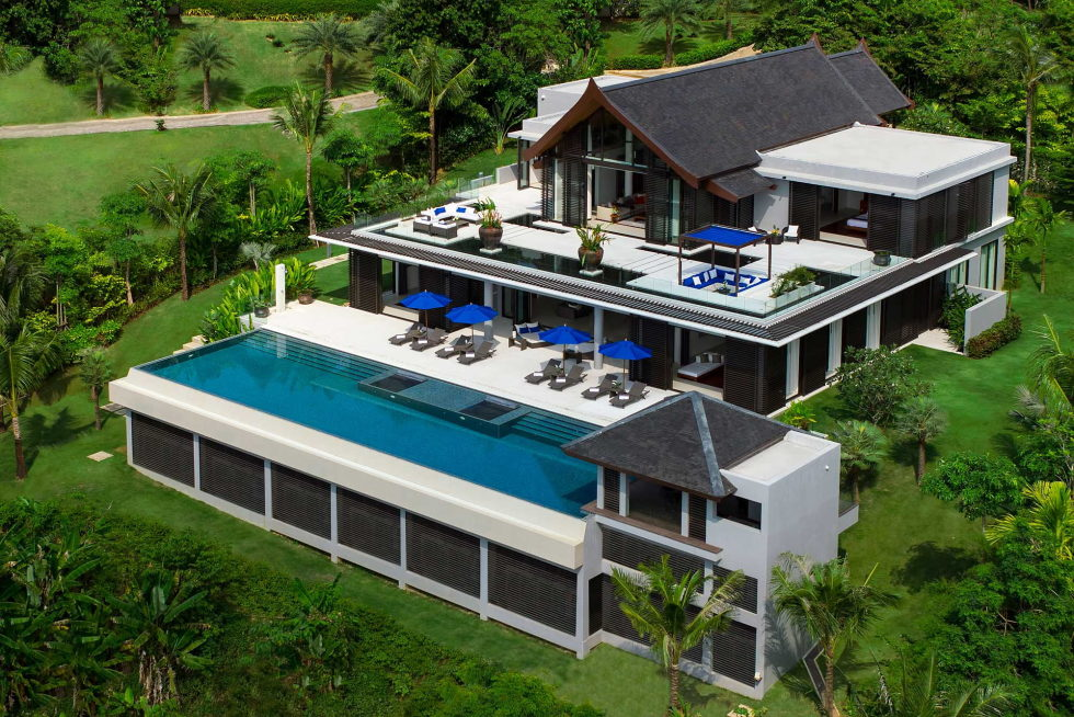 The Padma villa on the island of Phuket in Thailand 1