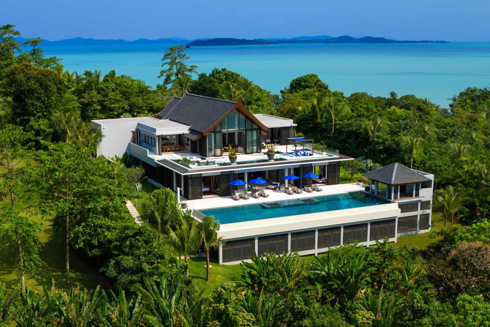 The Padma Villa On The Island Of Phuket In Thailand on modern house in thailand