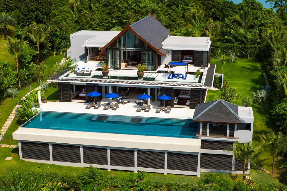 The Padma villa on the island of Phuket in Thailand 3
