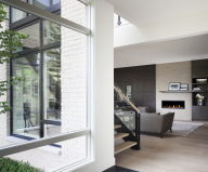 The cozy house with the garden in Ottawa city from the Kariouk Associates studio