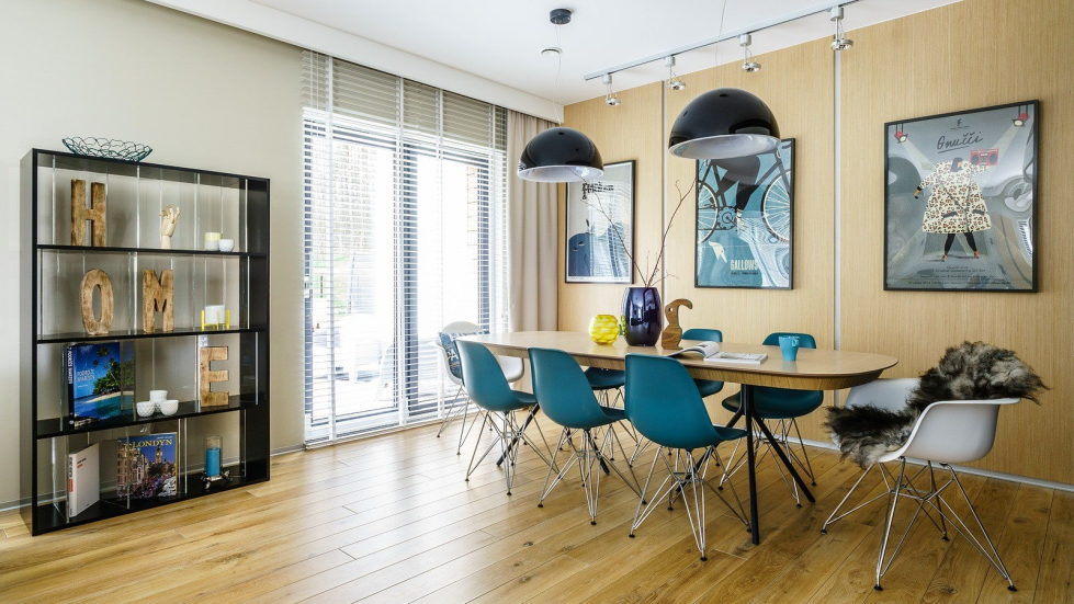 The home of the young family near Gdansk 250 square meters in the Art Nouveau style 1