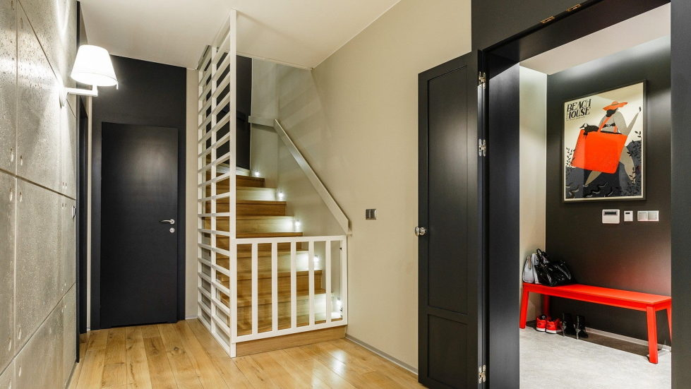 The home of the young family near Gdansk 250 square meters in the Art Nouveau style 29