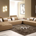 The interior of a living room in brown colors: features, photos of interior examples