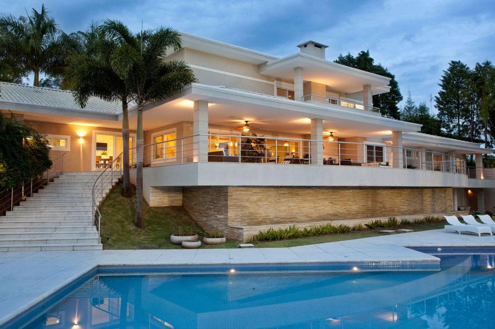 The mansion in Sao Paulo from PUPO + GASPAR Architecture & Interior 46