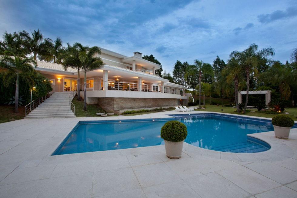 The mansion in Sao Paulo from PUPO + GASPAR Architecture & Interior 47