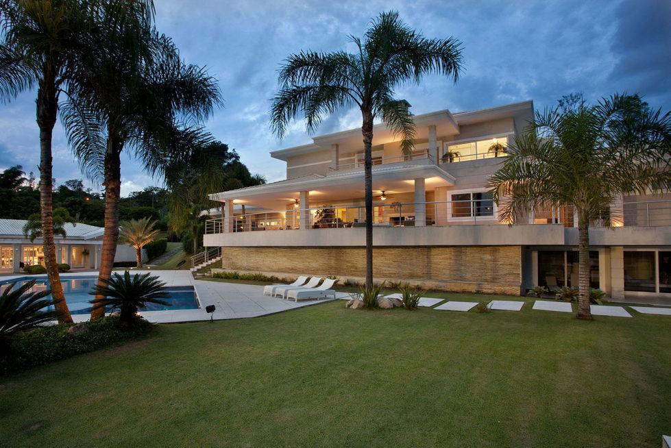 The mansion in Sao Paulo from PUPO + GASPAR Architecture & Interior 48