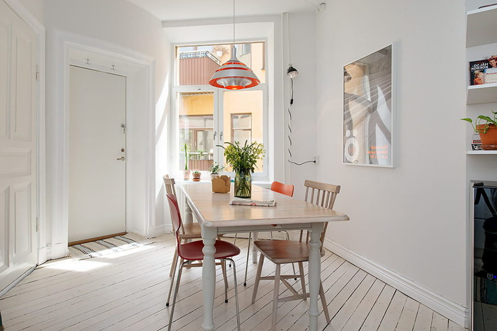 The modern design of the old apartment in sweden - The modern apartment in the old school ...