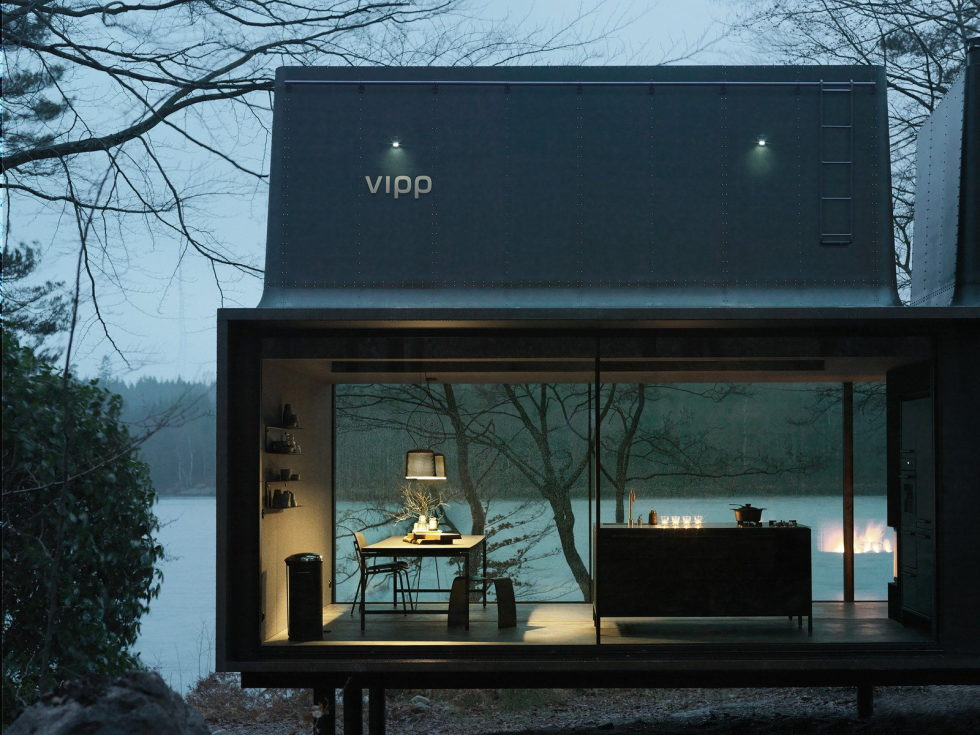 The modular-type House The Vipp Shelter 17