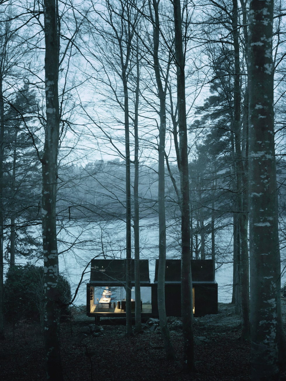The modular-type House The Vipp Shelter 18