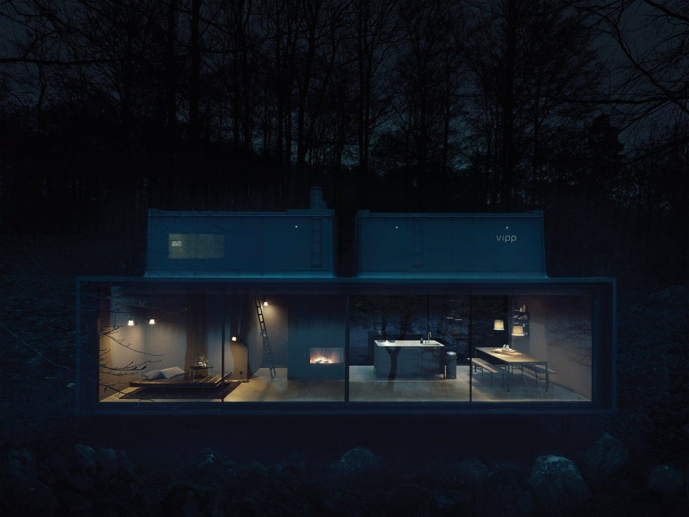 The modular-type House The Vipp Shelter 19