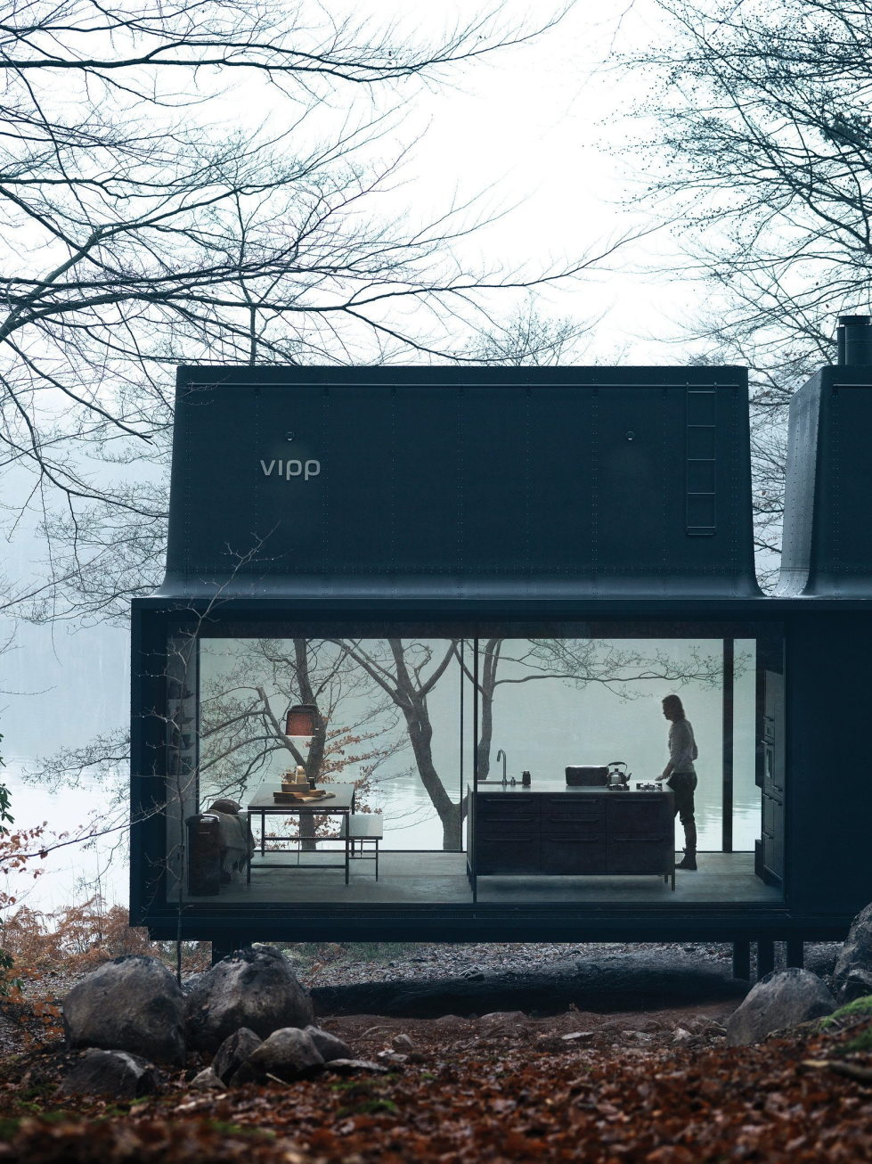 The modular-type House The Vipp Shelter 2