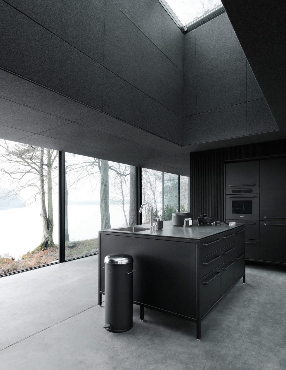 The modular-type House The Vipp Shelter 5