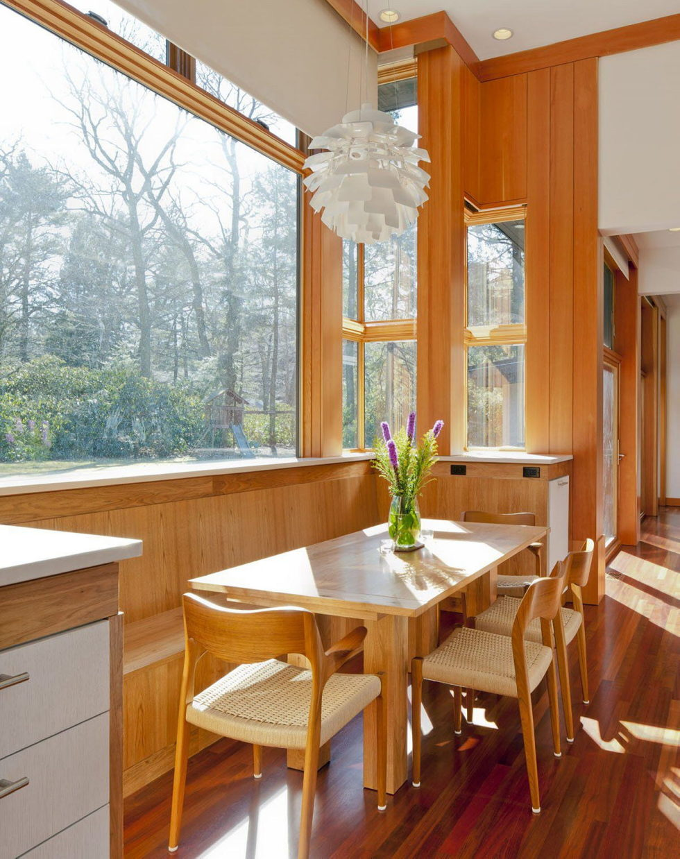 The restoration of the private residence in Chestnut Hill, Massachusetts 7