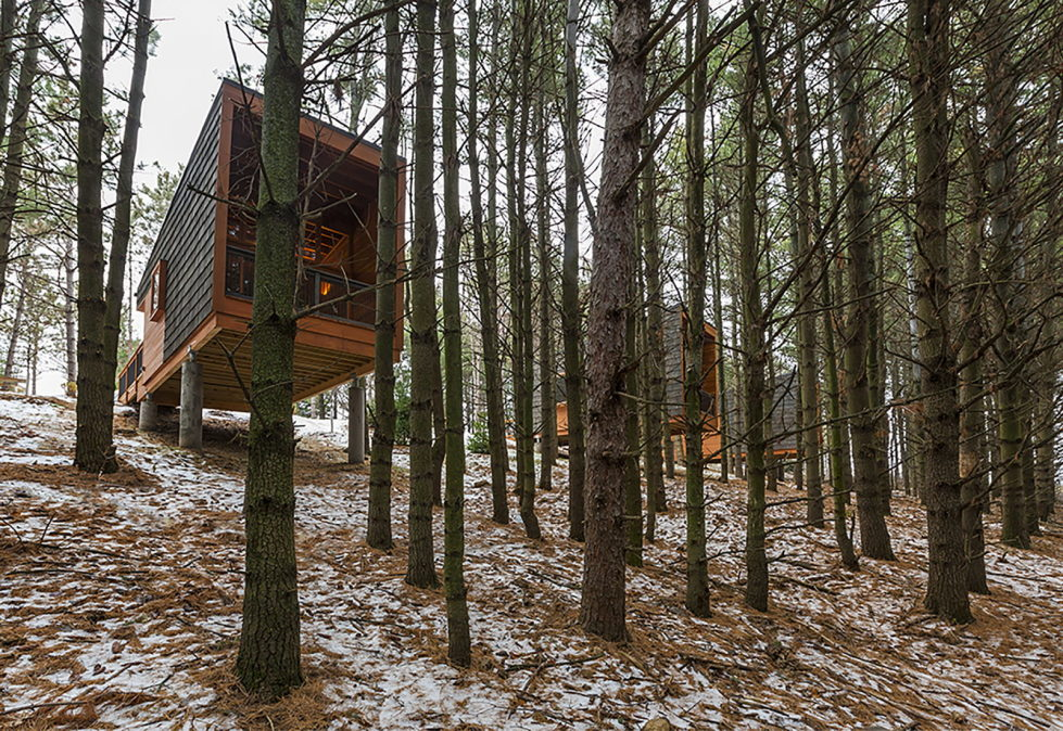 Three Houses At Whitetail Woods Regional Park 1