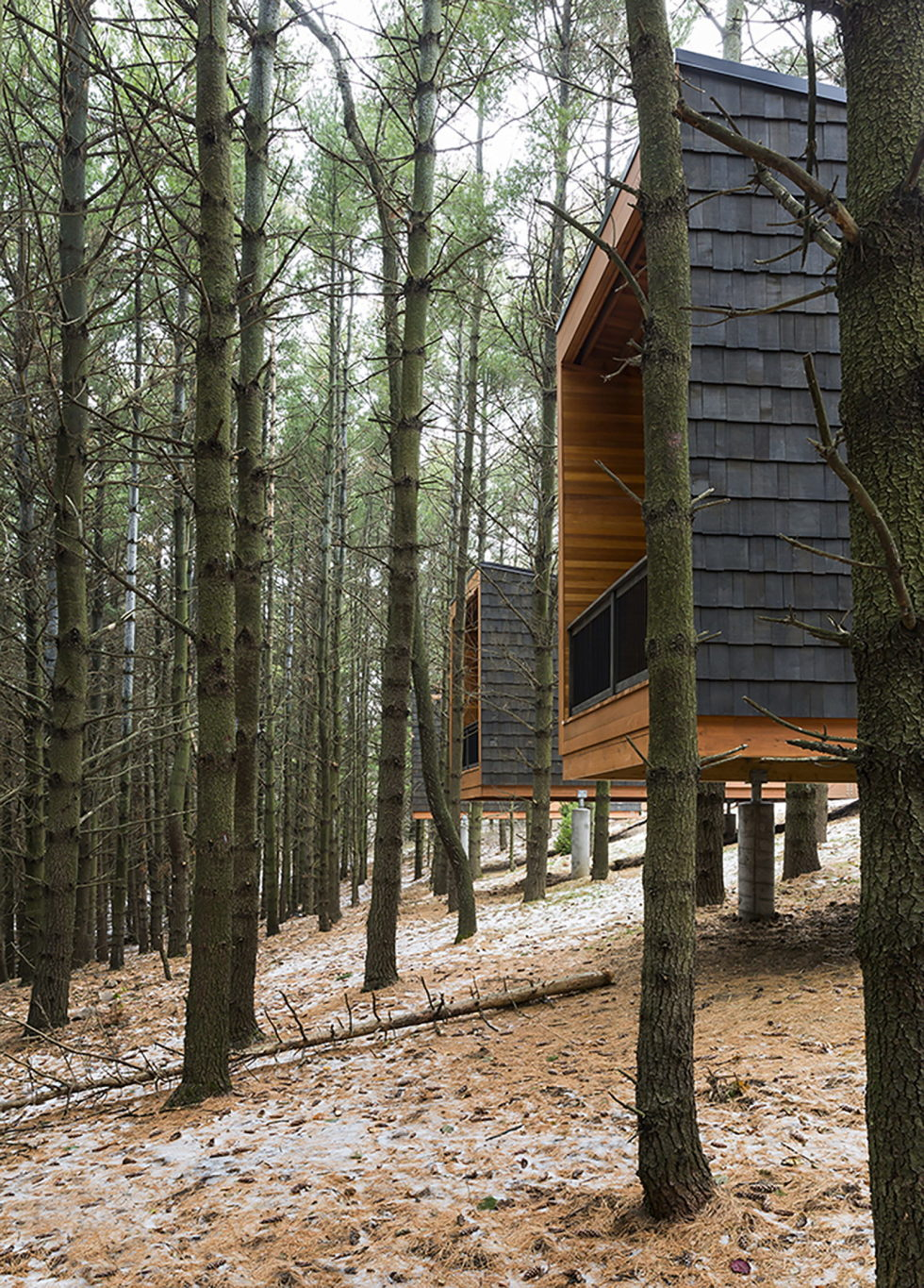 Three Houses At Whitetail Woods Regional Park 4
