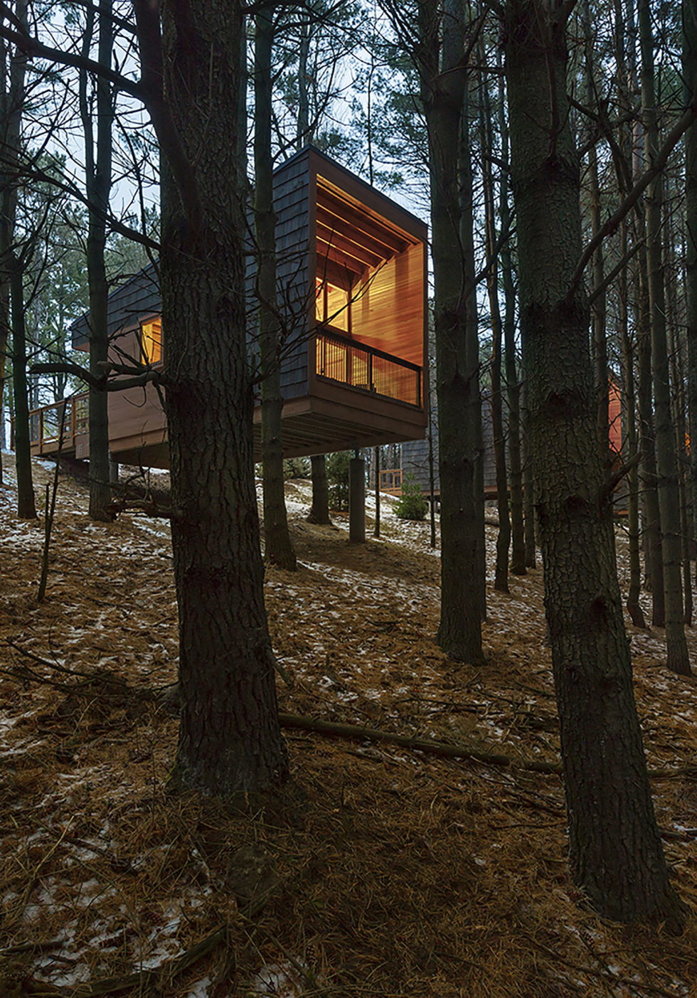 Three Houses At Whitetail Woods Regional Park 6